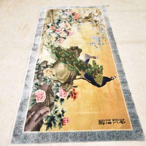 Chinees tapijt zijde 244 X 125 cm