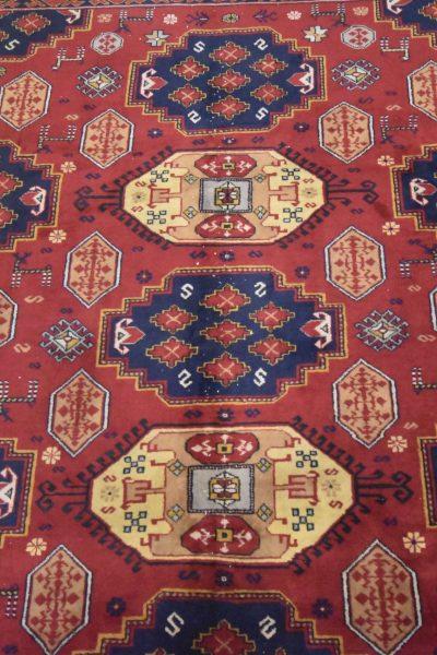 Handgeknoopt tapijt Isparta Turkije 260 X 207 cm