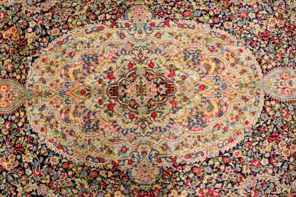 Perzisch tapijt kerman lavar 5844 7 2