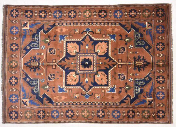 Vintage vloerkleed Kazak 305 X 215 cm