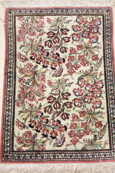perzisch tapijt ghoum zijde