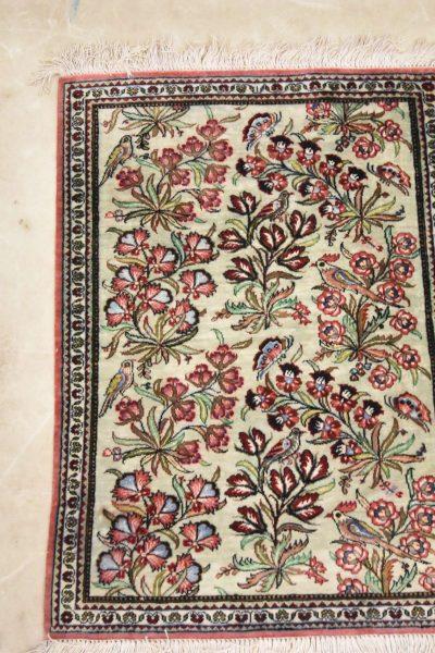Perzisch tapijt ghoum zijde 7476