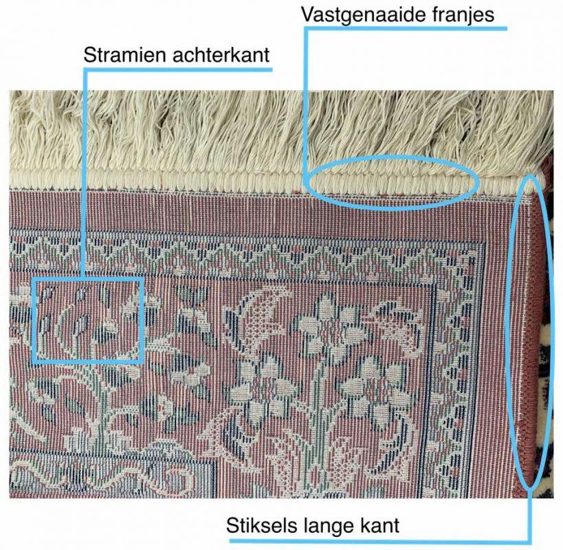Machinaal tapijt herkennen