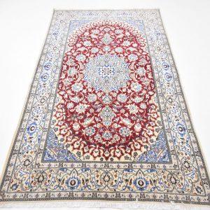 Perzisch tapijt nain met zijde volledig