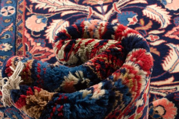 perzisch tapijt sarough 8714 wol loper 14