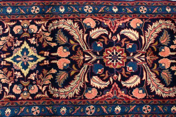 perzisch tapijt sarough 8714 wol loper 8