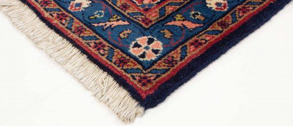 perzisch tapijt sarough 8714 wol loper 9