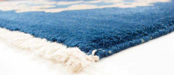 7925 china blauw handgeknoopt tapijt 11