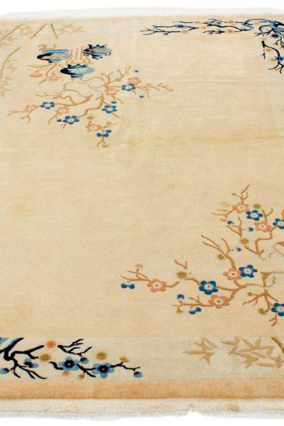 Handgeknoopt china 10248-tapijt beige2
