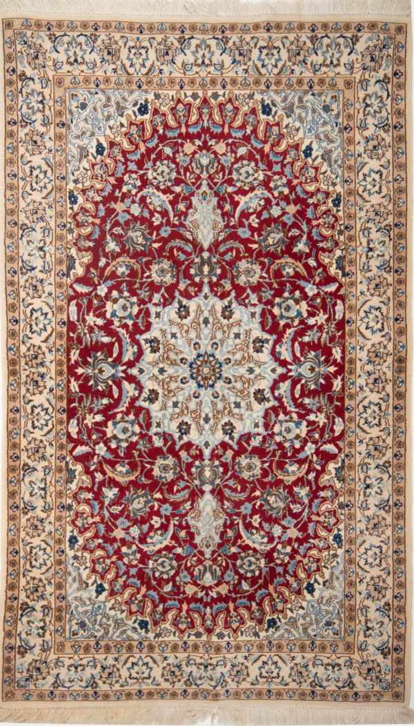 Perzisch Tapijt Nian rood 10251
