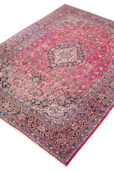 Vintage Perzisch vloerkleed Sarough 352 X 264 cm3