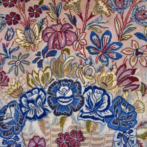 Zijde tapijt Ghoum 7566 8