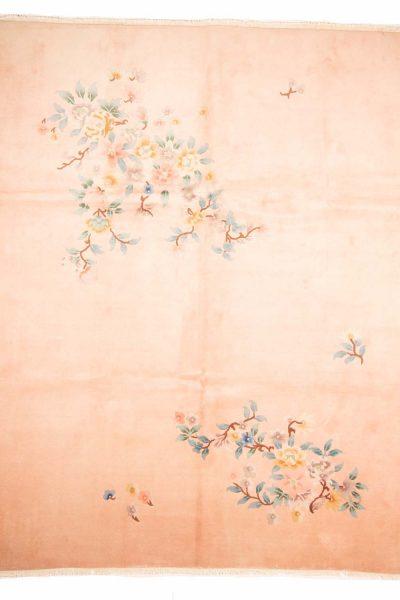 handgeknoopt tapijt china 8052 wol zijde creme3 1