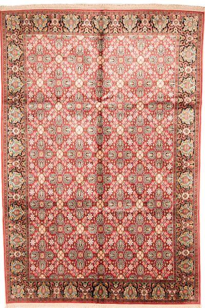 handgeknoopt tapijt kashmir 8058 zijde pakistan