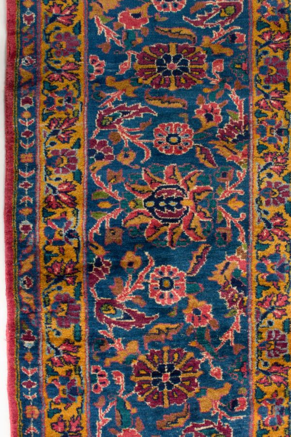 handgeknoopt tapijt sarough 5855 rood amerikaans wol 10