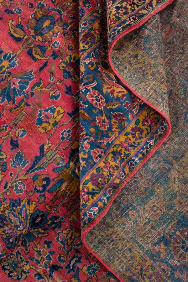 handgeknoopt tapijt sarough 5855 rood amerikaans wol 14