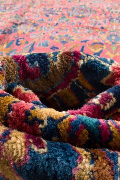 handgeknoopt tapijt sarough 5855 rood amerikaans wol 15