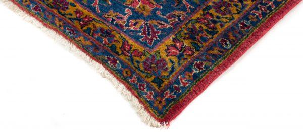 handgeknoopt tapijt sarough 5855 rood amerikaans wol 5