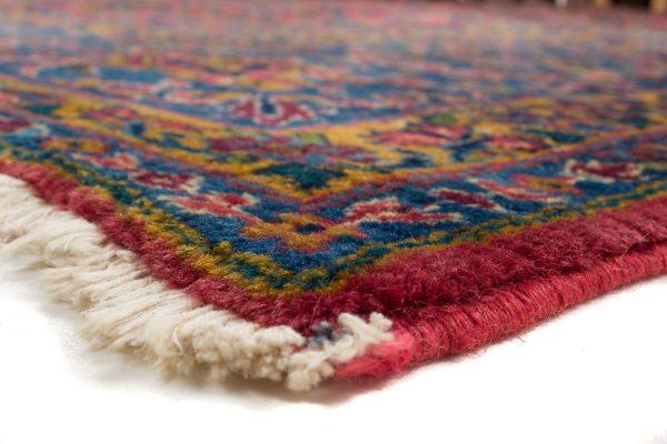 handgeknoopt tapijt sarough 5855 rood amerikaans wol 6