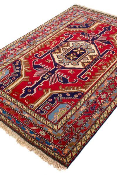 perzisch tapijt meshkin 10253 handgeknoopt rood1