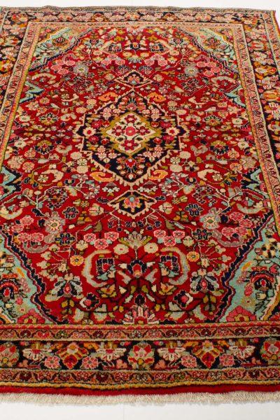 perzisch tapijt sarough 10244 rood handgeknoopt3