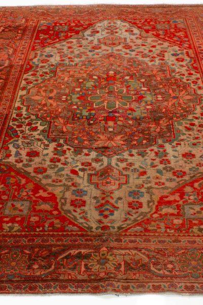 perzisch tapijt sarough -10245- handgevewen oranje5
