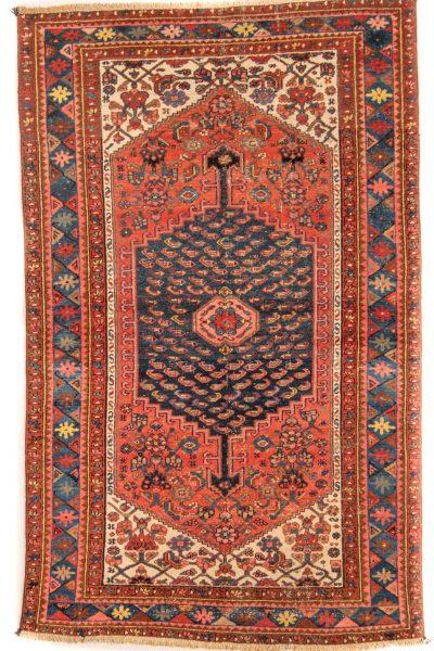 Perzisch tapijt 10262 Hamadan handgeknoopt