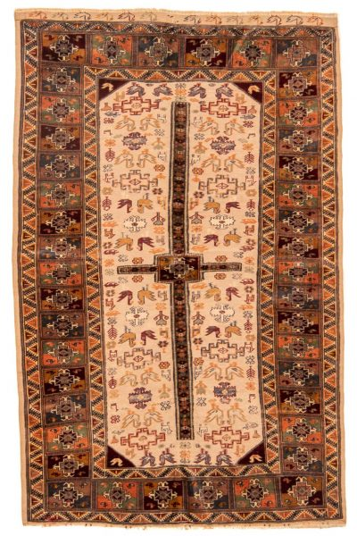 Perzisch tapijt 10263 Beloutch handgeknoopt