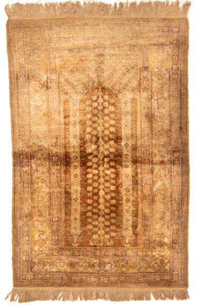 ghoum tapijt zijde 10267 handgeknoopt