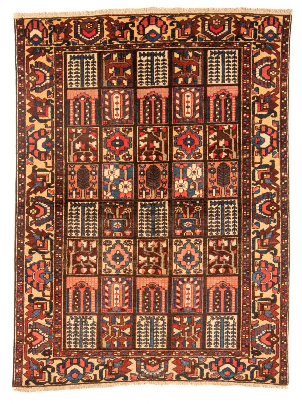 Perzisch tapijt Bakhtiar 10255 handgeknoopt wol