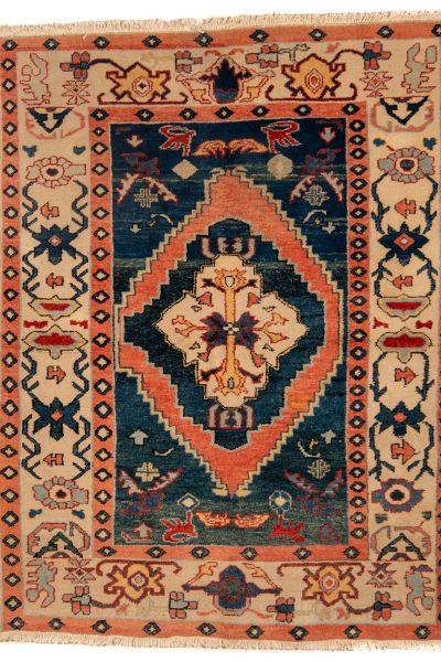 Perzisch tapijt 10260 meshkin handgeknoopt