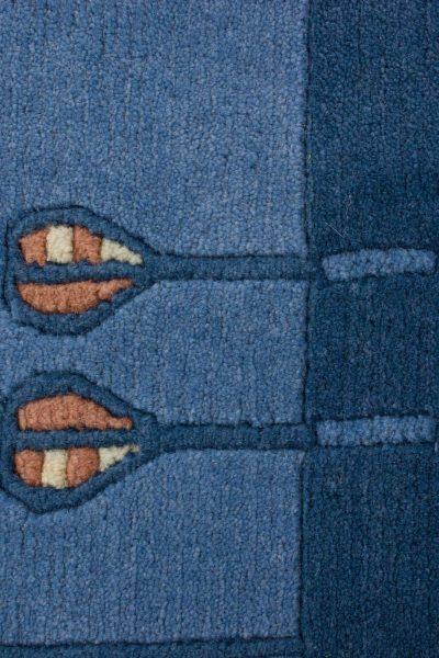 Handgeknoopt Nepal tapijt 8267 A3510