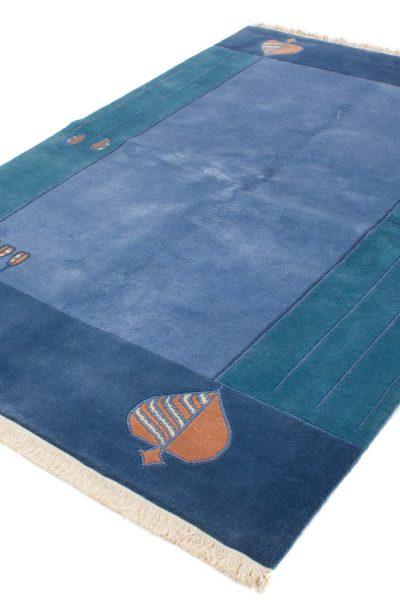 Handgeknoopt Nepal tapijt 8267 A352