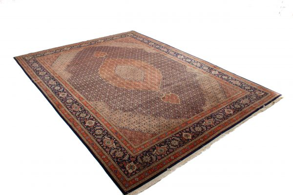 Handgeknoopt perzisch tapijt tabriz mahi 77781