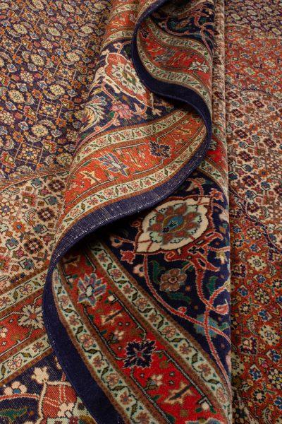 Handgeknoopt perzisch tapijt tabriz mahi 777815