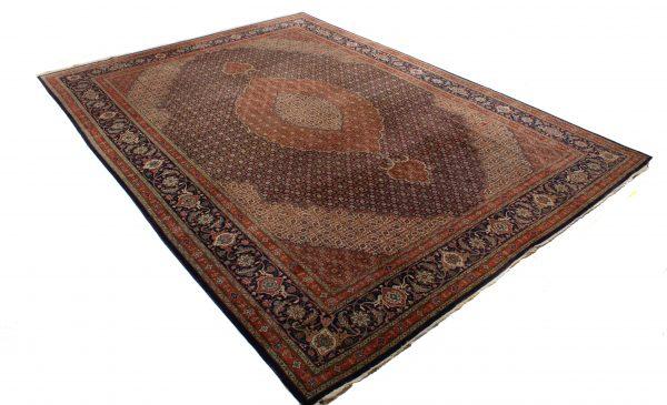 Handgeknoopt perzisch tapijt tabriz mahi 77782