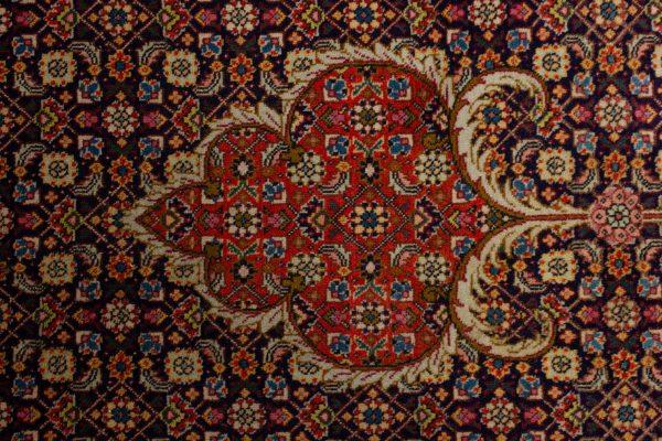 Handgeknoopt perzisch tapijt tabriz mahi 77784