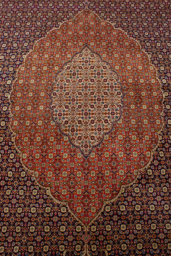 Handgeknoopt perzisch tapijt tabriz mahi 77785