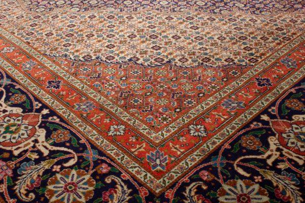 Handgeknoopt perzisch tapijt tabriz mahi 77789