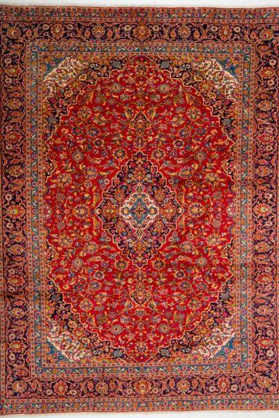 Kashan Rood 304x398 cm 10058 B2518