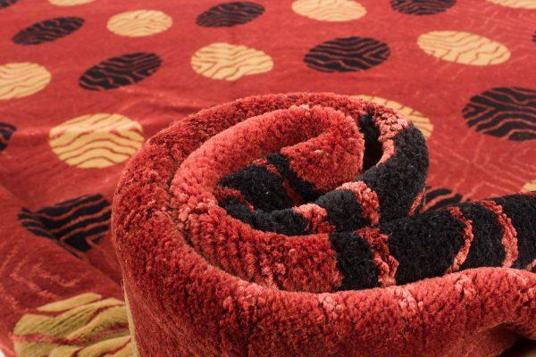 Nepal tapijt Royal rood zwart 208x300 cm 10089 A4311