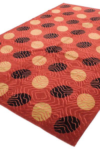 Nepal tapijt Royal rood zwart 208x300 cm 10089 A434