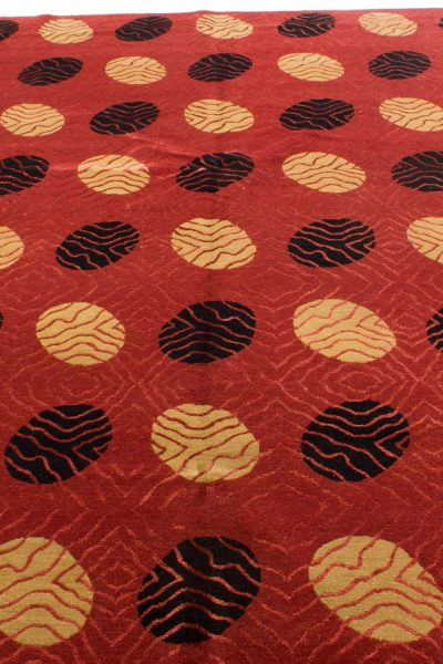 Nepal tapijt Royal rood zwart 208x300 cm 10089 A435