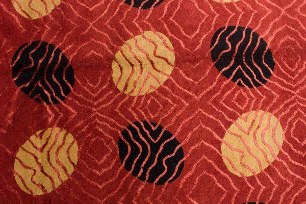 Nepal tapijt Royal rood zwart 208x300 cm 10089 A436