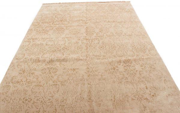 Nepal tapijt wol en zijde 202x296 cm 10081 A435