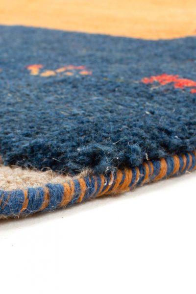 Perzisch Gabbeh Blauw Oranje 176x276 cm 10084 A4310