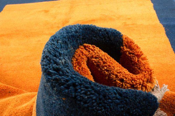Perzisch Gabbeh Blauw Oranje 176x276 cm 10084 A4313