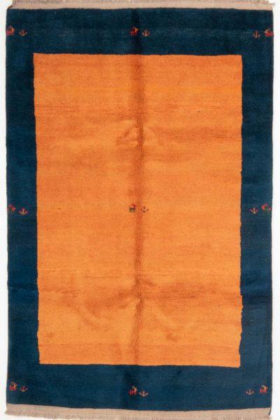 Perzisch Gabbeh Blauw Oranje 176x276 cm 10084 A4314