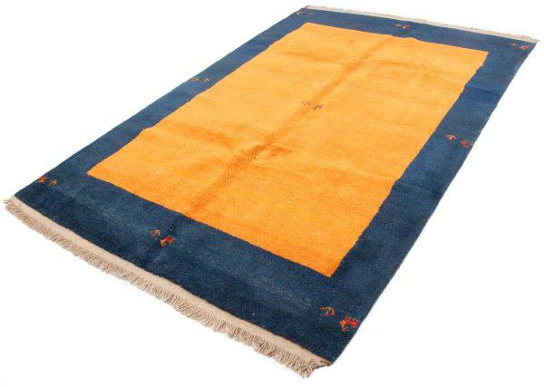 Perzisch Gabbeh Blauw Oranje 176x276 cm 10084 A432