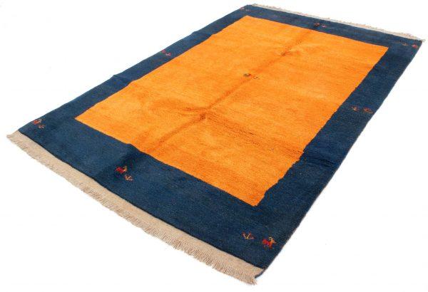 Perzisch Gabbeh Blauw Oranje 176x276 cm 10084 A433